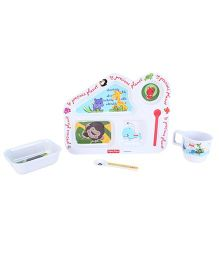 Fisher Price Precious Planet Dinner Set - 4 Piece