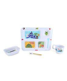Fisher Price Precious Planet Feeding Set - 4 Pieces