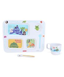 Fisher Price Precious Planet Feeding Set - 3 Piece