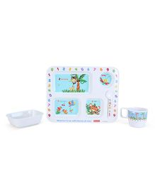 Fisher Price Learning Numbers Meal Set - 4 Pieces