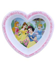 Disney Snow White heart Shape Bowl - Pink