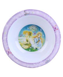 Disney Fairies Round Bowl - Purple