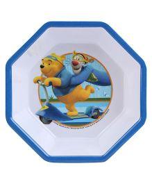 Disney Winnie The Pooh Octagonal Bowl - Blue