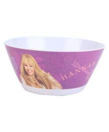 Hannah Montana Round Bowl - Purple