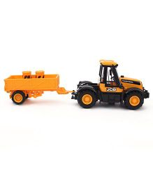 JCB Trailer Model Vehicle Toy - Yellow
