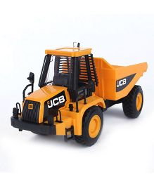 JCB Dump Truck Model Toy - Yellow