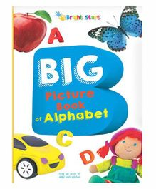 Big Picture Book Of Alphabet - English