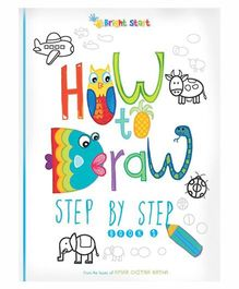 How To Draw Step By Step Book No. 2 - English