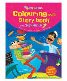 Colouring Cum Story Book With Suppandi - English