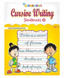 Cursive Writing Sentences No. 2 - English