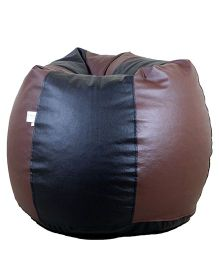Orka Bean Filled Bag Black and Brown - Large