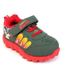 Chhota Bheem Casual Shoes - Red Green