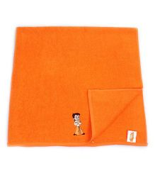 Chhota Bheem Bath Towel - Orange
