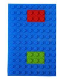Li'll Pumpkins Puzzle Pattern Diary - Blue