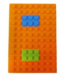 Li'll Pumpkins Puzzle Pattern Diary - Orange