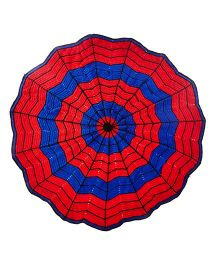 Mayra Knits Spider Man Blanket - Red