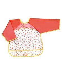 Go Travel Wearable Sleeved Bib Peach - 2645