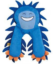 Go Travel Monster Flat Neck Pillow Blue - 2696-BLU