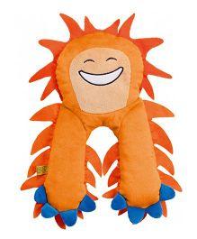 Go Travel Monster Flat Neck Pillow Orange - 2696-OG