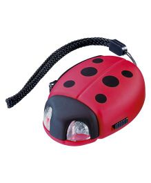 Go Travel Ladybird Dynamo Torch Red - 2625-RD