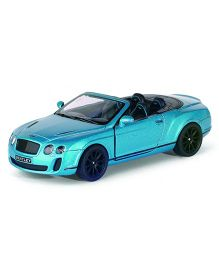 Adraxx Open Roof Top Bentley Remote Controlled Racing Car - Blue