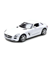 Adraxx Mercedes Benz Remote Controlled Racing Car - White