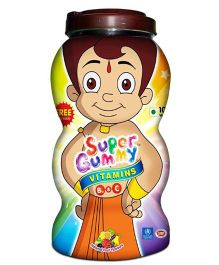 Super Gummy Vitamins B 12 & C - 300 Pieces