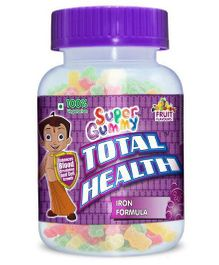 Super Gummy Total Health Iron - 30 Pieces