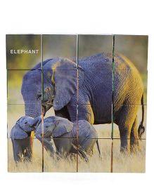 Ratnas Wild Animals Puzzle Cube