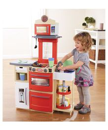 Little Tikes Cook N Store Kitchen - Red