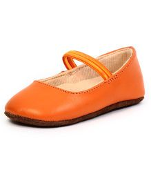 Beanz Booties - Orange