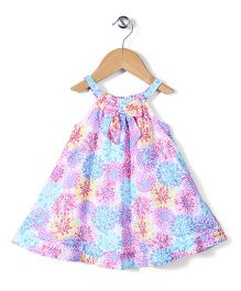 Mothercare Singlet Frock Floral Print - Multicolor