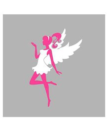 Chipakk Classy Fairy Wall Decal - Pink and White