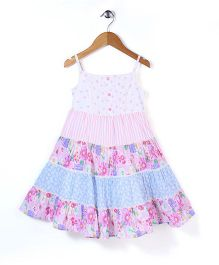 Mothercare Singlet Frock Floral Print - Multicolour
