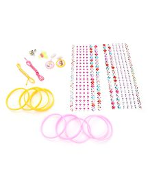Disney Princess Stick N Style Necklace And Bangles Jewellery Set