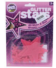 Hamleys Brainstorm Glow Glitter Stars
