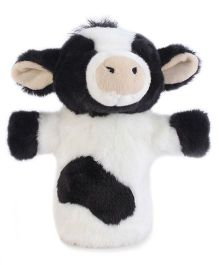 Hamleys Cow Hand Puppet - Black And White