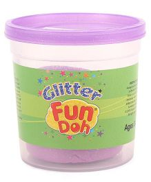 Funskool Glitter Fun Doh - Purple