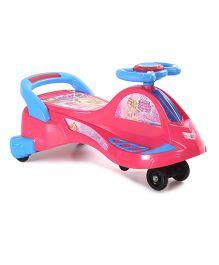 Barbie Swing Car Pink Blue - MBE MAT042