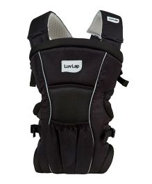 Luv Lap Blossom 2 Way Baby Carrier Black - 18172