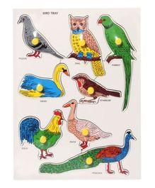 Wooden Bird Tray