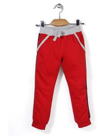 Mothercare Drawstring Track Pant - Red