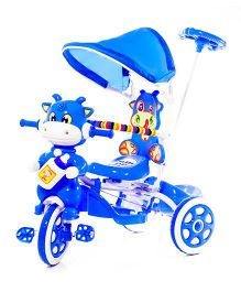 Luusa Hunny Bunny Tricycle With Canopy - Blue