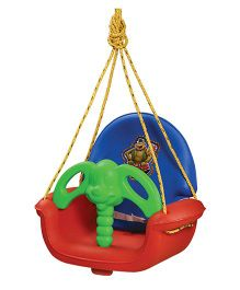 Playgro Toys Super Swing Blue Red & Green - PGS-1409 (color may vary)