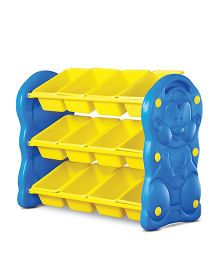 Playgro Toys Storage Shelf  Yellow & Blue - PGS-506 (color may vary)