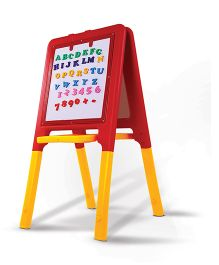 Playgro Toys 2 Way Easel Board Red & Yellow - PGS-701 (color may vary)