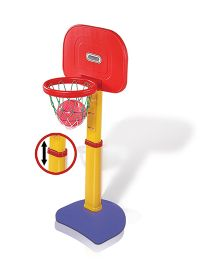 Playgro Toys Junior Adjustable Basket Ball Set - PGS-703 (color may vary)