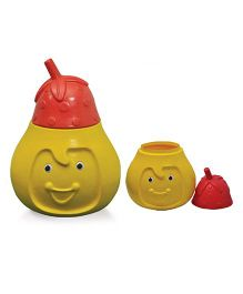 Playgro Pear Toy Box - Red & Yellow