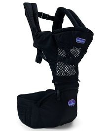 Aiebao Print Baby Carrier - Black