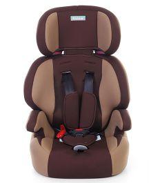 High Back Forward Facing Car Seat - Coffee Brown